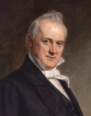 James Buchanan (1791 - 1868) *oil on canvas *155.9 x 119.7cm *1859
