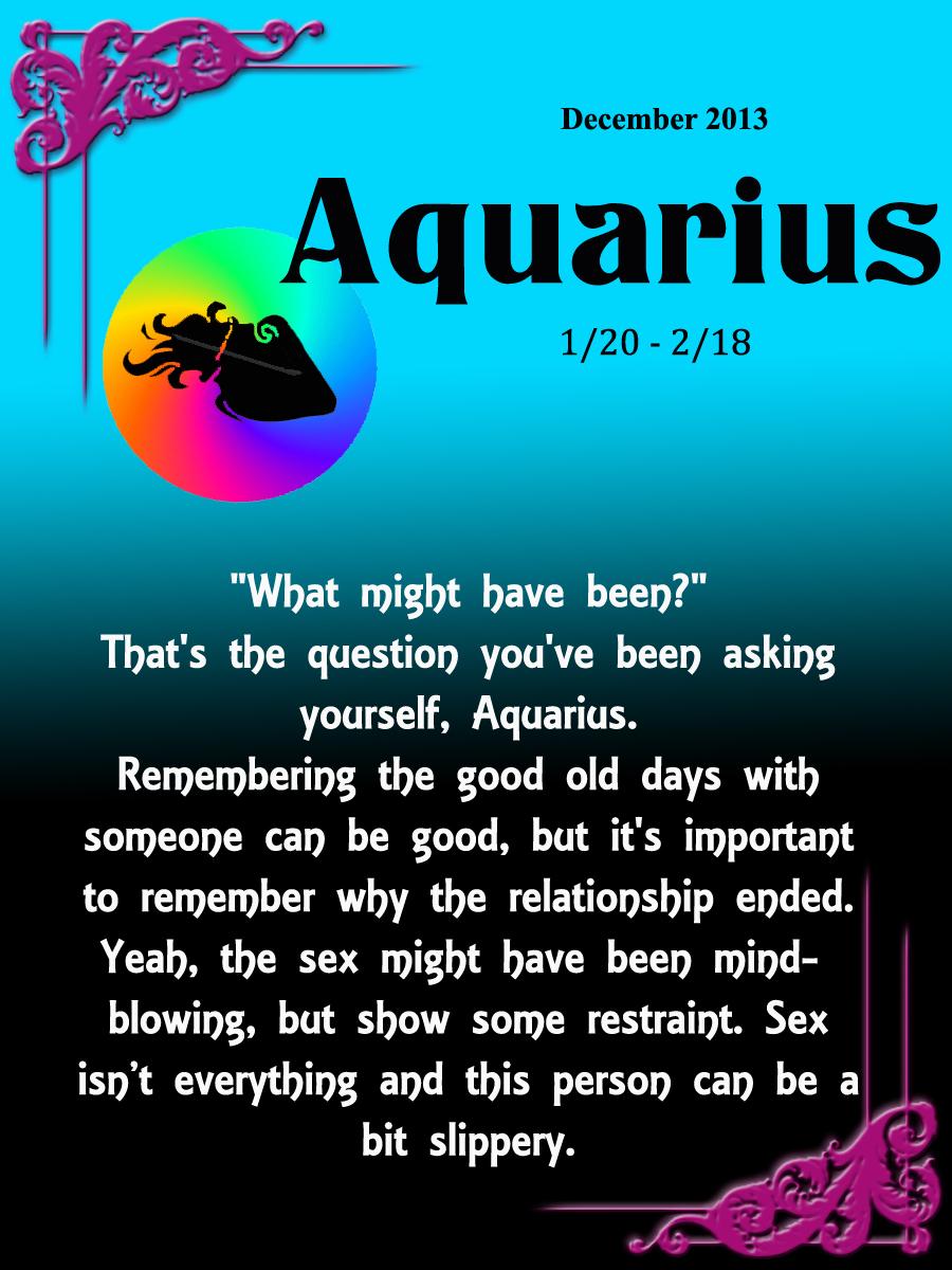 Aquarius Monthly Love Horoscope