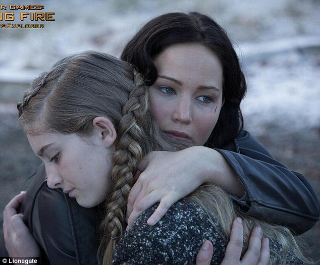 the hunger games or just the hunger katniss gets straight