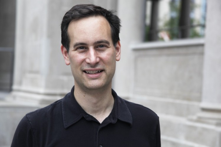 David Levithan, author of Two Boys Kissing./Photo by Jake Hamilton