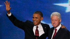 "President Obama is all ""Watch how it's done, Bill."""