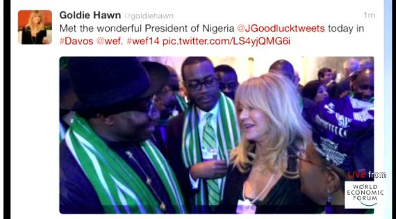 Hawn's tweet with Jonathan.