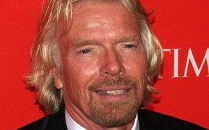 Virgin Atlantic CEO Sir Richard Branson.