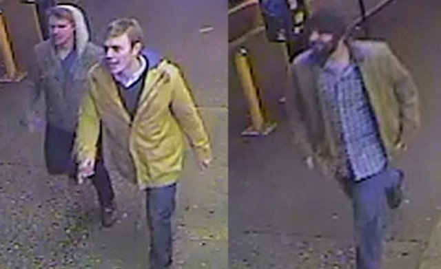 If you recognize these men, please contact authorities.