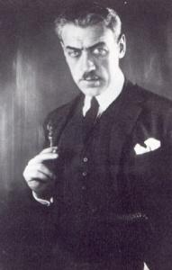 Director Mauritz Stiller.