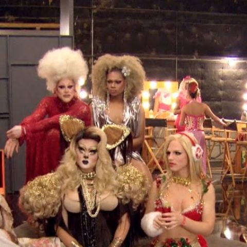 Season 8's Thorgy Thor, Chi Chi DeVayne, Derrick Barry and Kim Chi.